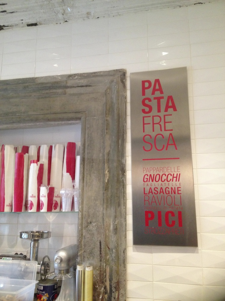 Florence New opening Pasta Bar