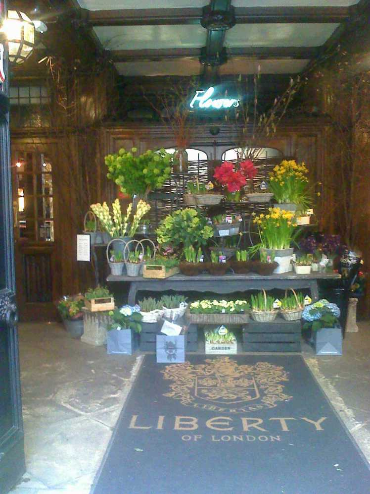 LONDON'S FLOWERS BY LIBERTY