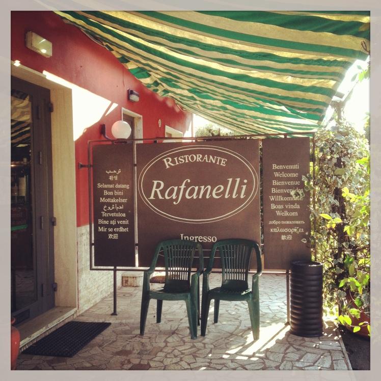 RISTORANTE RAFANELLI - PISTOIA- TUSCANY