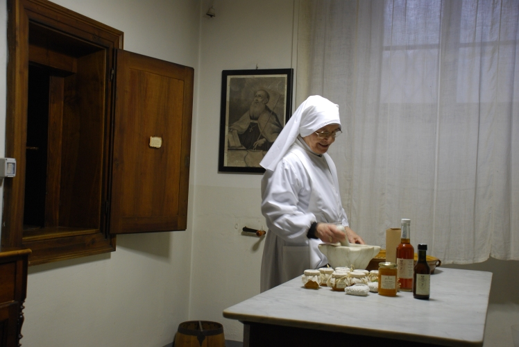 NUN ROSALIA AT WORK