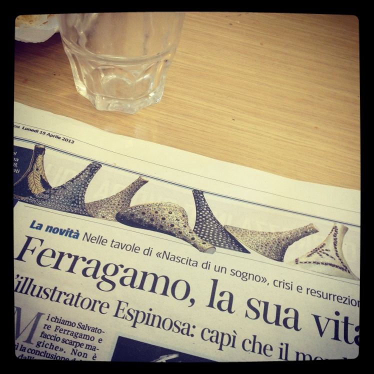 Ferragamo's shoe museum in Florence
