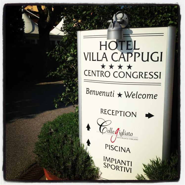 Grand Hotel Villa Cappugi ~ Pistoia~