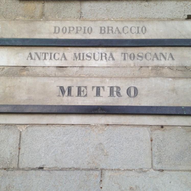 Pistoia ,  DOUBLE ARM - 'doppio braccio'& the meter