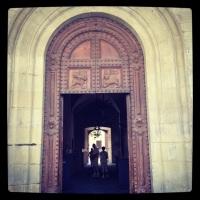Pistoia's city hall portal