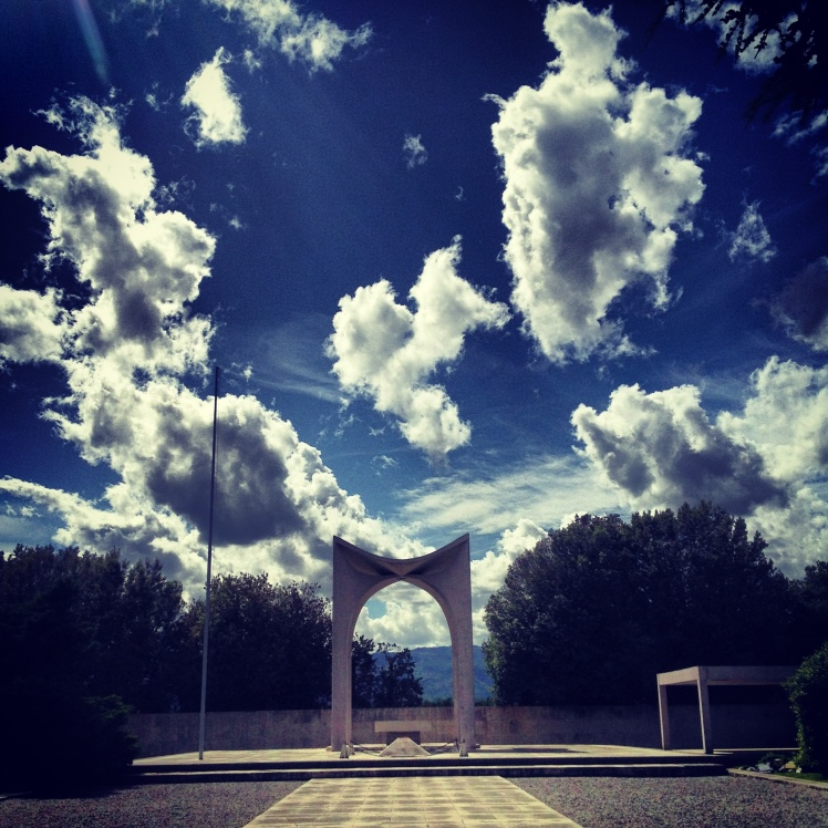 Memorial day : Pistoia Brasilian military  monumental cementery