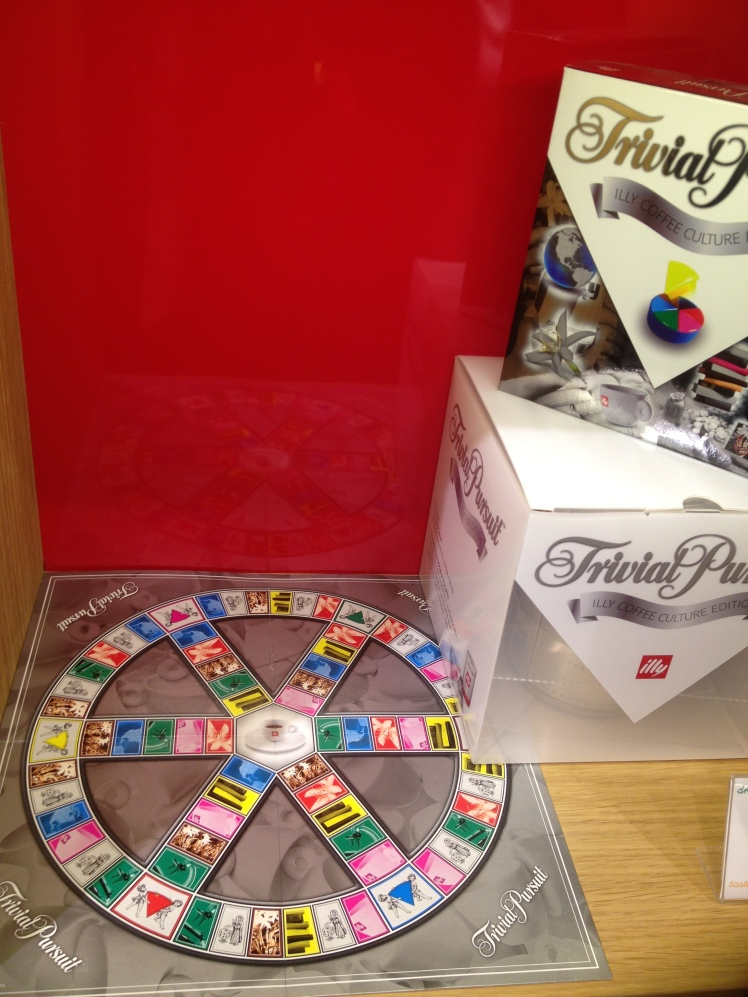 Illyshop in Rome: TRIVIAL PURSUIT ILLY COFFEE CULTURE EDITION