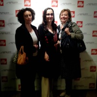 The food blogger Sississima & Alessandra Bettelli by illy caffè Boutique shop in Rome