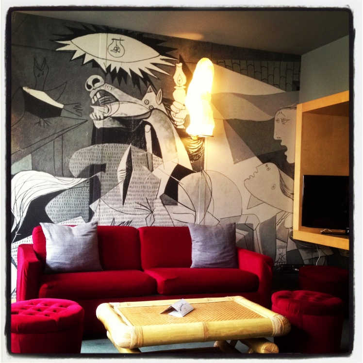 Do you remember Guernica? By Abitarthotel.com in Rome