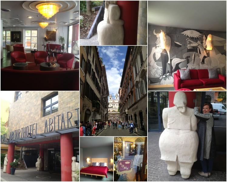 ROMA : ABITARTHOTEL  ART&BEAUTY