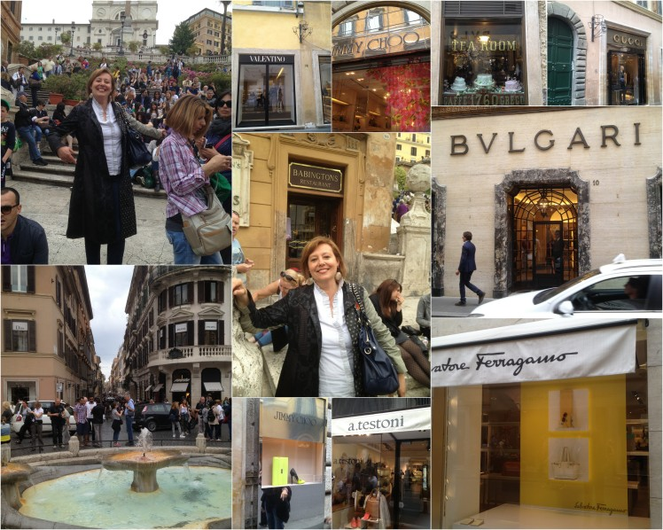 ROMA : a shopping tour with me!