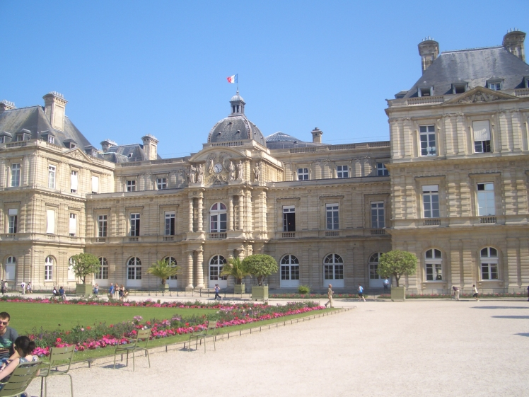 Luxemburg gardens in Paris