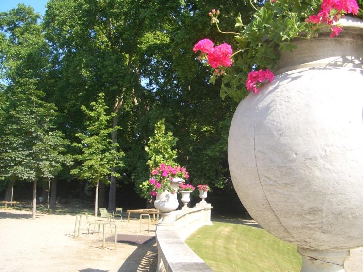 Luxemburg gardens in Paris