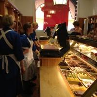 A luxury delicatessen food store in Munich :Alois Dallmayr