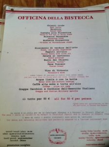 THE SECOND MENU