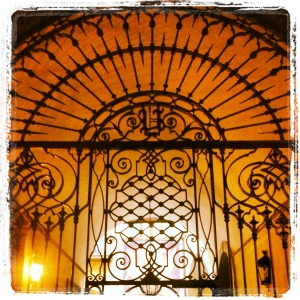 Old gate in Florence