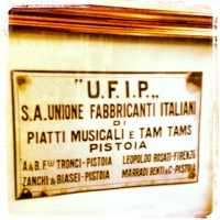 MadeinPistoia - UFIP EARCREATED CYMBALS Factory in  Tuscany!