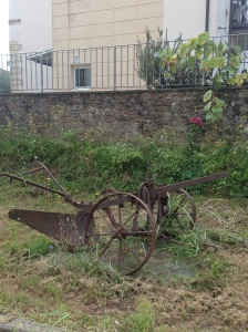 Old old plough