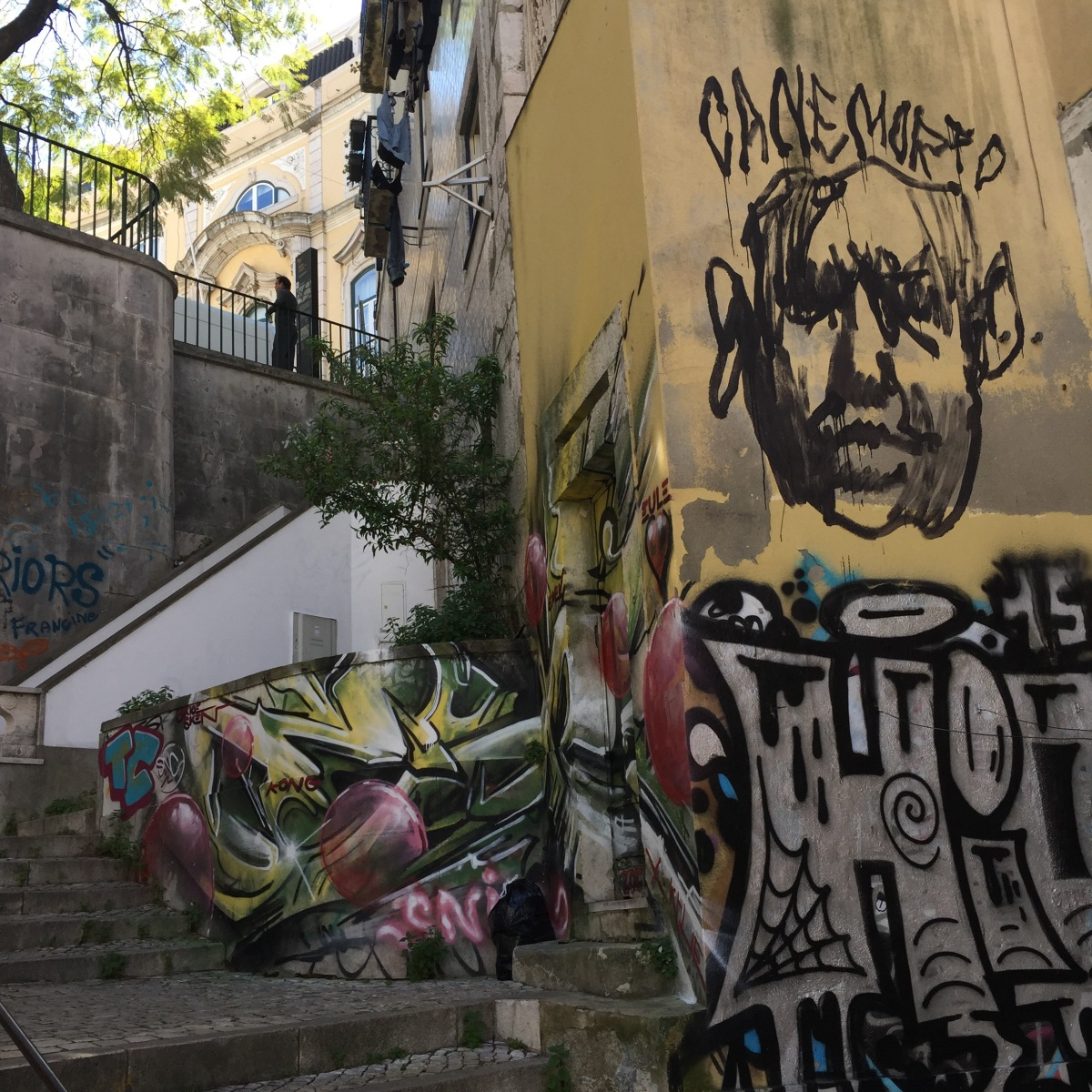 My Lisbon : graffiti street art style