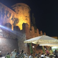 Montecarlo di Lucca : a wine hamlet in Tuscany - wine festival until September 8th!