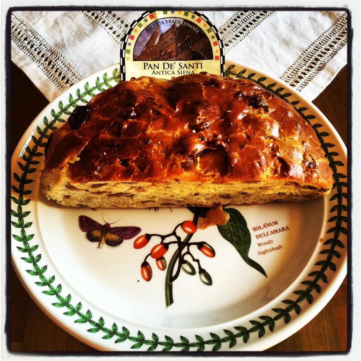 Pan coi Santi  : All Saints sweet bread from Siena , ever tried?