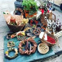 Florence : Christmas market in Santo Spirito
