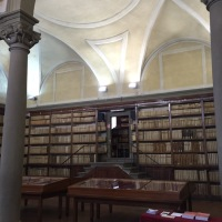 Pistoia : Forteguerriana library dated 1473 it's one of the oldest in Italy.