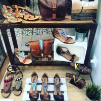 MAASAI PROJECT sandals & bags by Pikolinos in Florence