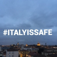 Italy is SAFE, Tuscany is safe, Florence is safe!Pistoia is safe!