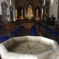 Even Churches re-open after lockdown in Pistoia, Tuscany,Italy