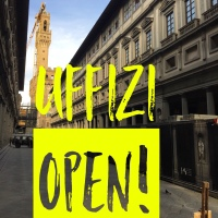 Uffizi Galleries and many other Florentine museums reopen today!
